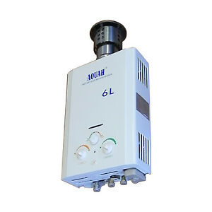 New Aquah Outdoor On Demand Propane Lpg Tankless Gas Water Heater Up To 2 0 Gpm Ebay