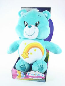 CARE-BEARS-plush-WISH-BEAR-12-034-soft-toy-cuddly-American-Greetings-NEW