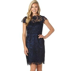 69ab14600 Image is loading NEW-DECODE-1-8-Scalloped-Lace-Sheath-Dress-