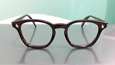 vintage AMERICAN OPTICAL 1960,USA, 48mm-22, color chocolate, tart arnel, depp