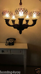 deckenlampe h ngelampe gr nderzeit holz luster. Black Bedroom Furniture Sets. Home Design Ideas