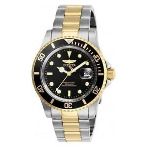 Invicta-Men-039-s-Pro-Diver-Quartz-Stainless-Steel-Two-Tone-Watch-26973