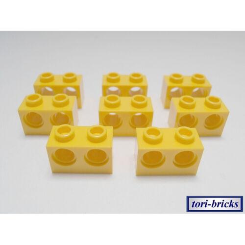 Lochstein 1x2 gelb 2 Loch 8 Stück »NEU« # 32000 LEGO Bau- & Konstruktionsspielzeug Lego Technik Lochbalken LEGO Baukästen & Sets