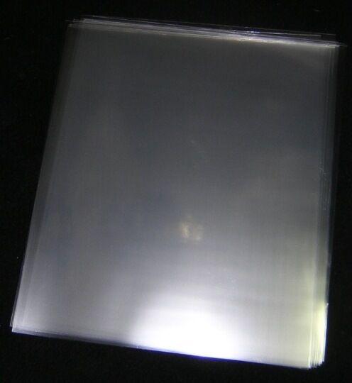 500 ACID-FREE, CRYSTAL CLEAR, PLASTIC SHEET PROTECTORS