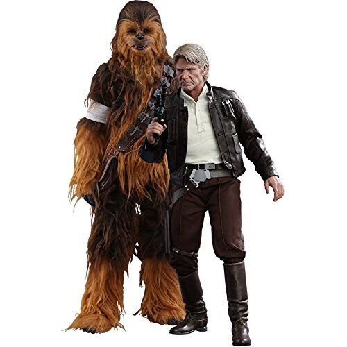 Star Wars Episode VII The Force Awakens Han Solo & Chewbacca 1/6 Figure Set