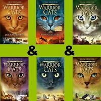 Warrior Cats Staffel 5 Band 1-6- Der Ursprung der Clans 1-2-3-4-5-6 -Erin Hunter