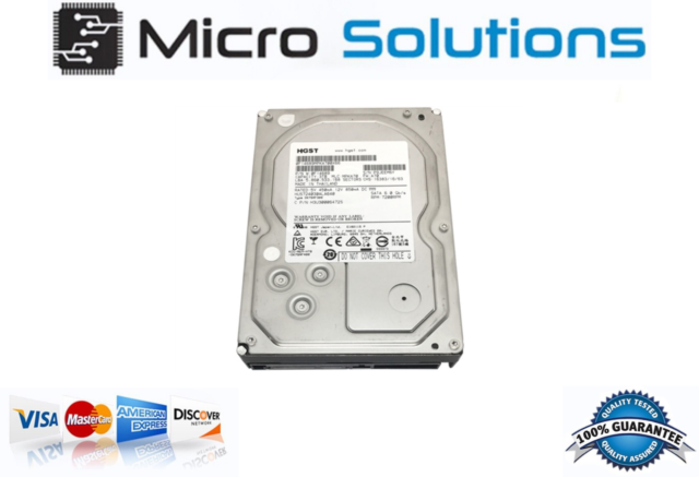 """HGST Ultrastar 7K4000 3TB 7200RPM 64MB SATA III 6Gb//s 3.5/"""" Enterprise Hard Drive"""