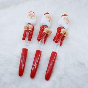 Fashion-Boxing-Santa-Claus-Christmas-Light-Ballpoint-Pen-Laser-Eye-Xmas-Gift