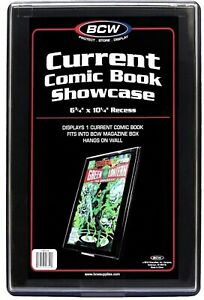 BCW Current Comic Book Showcase Displays 1 Current Comic Book