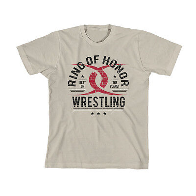 Official ROH Ring of Honor ACH Orange T-Shirt
