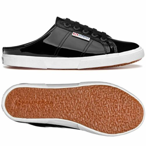 Superga Lady Shoes Woman 2288-LEAPATENTW Leisure Sabot Low Heel