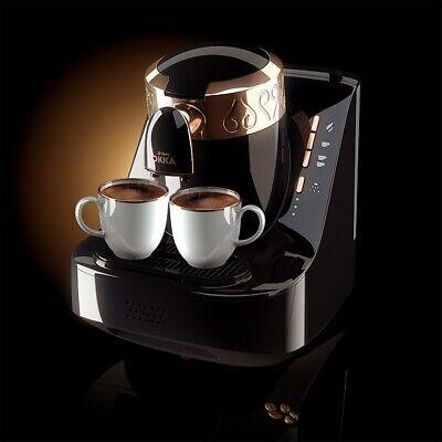 Arzum Okka Automatic Turkish Greek Coffee Machine 220V Black OK001 Arabic