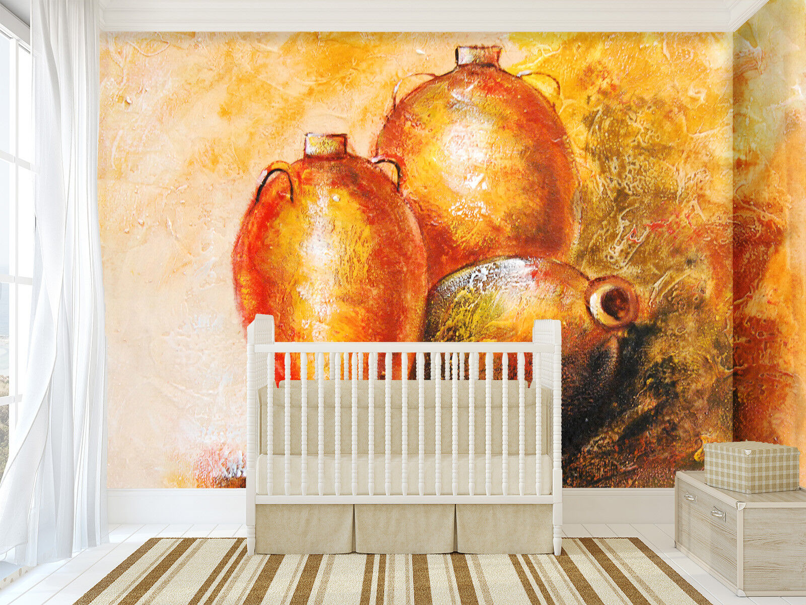 3D Ceramic Bottle 444 Wall Paper Wall Print Decal Wall Deco Indoor Mural Carly