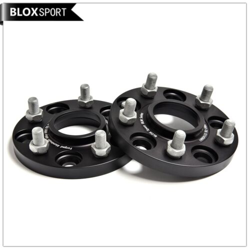 Pair of 15mm Hubcentric Wheel Spacers 5x114.3 Forge fit Tesla Model 3 Base Sedan