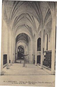 72-CPA-Abtei-von-Solesmes-La-Kapelle-L-039-Abbatiale