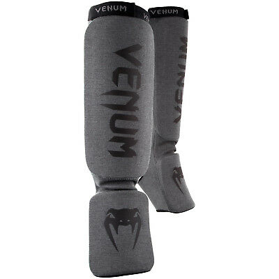 Venum Kontact Shin Instep Guards Blue Shinguards Kickboxing Striking MMA Sold by MinotaurFightStore