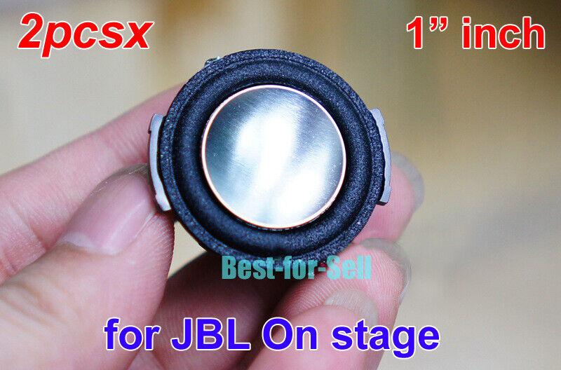"""2pcs For harman//JBL 1/"""" inch 30mm 4Ohm 4Ω 20~30W Tweeter Speaker Loudspeaker"""