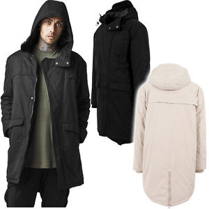 URBAN-CLASSICS-Giacca-Giaccone-uomo-Cotton-Peached-Canvas-Parka-TB1461