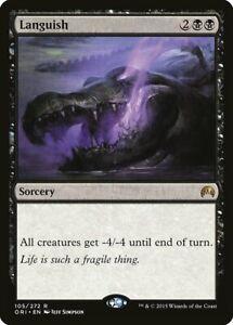 Magic Card MTG: Languish - Black Rare Full Art Promo Origins ORI