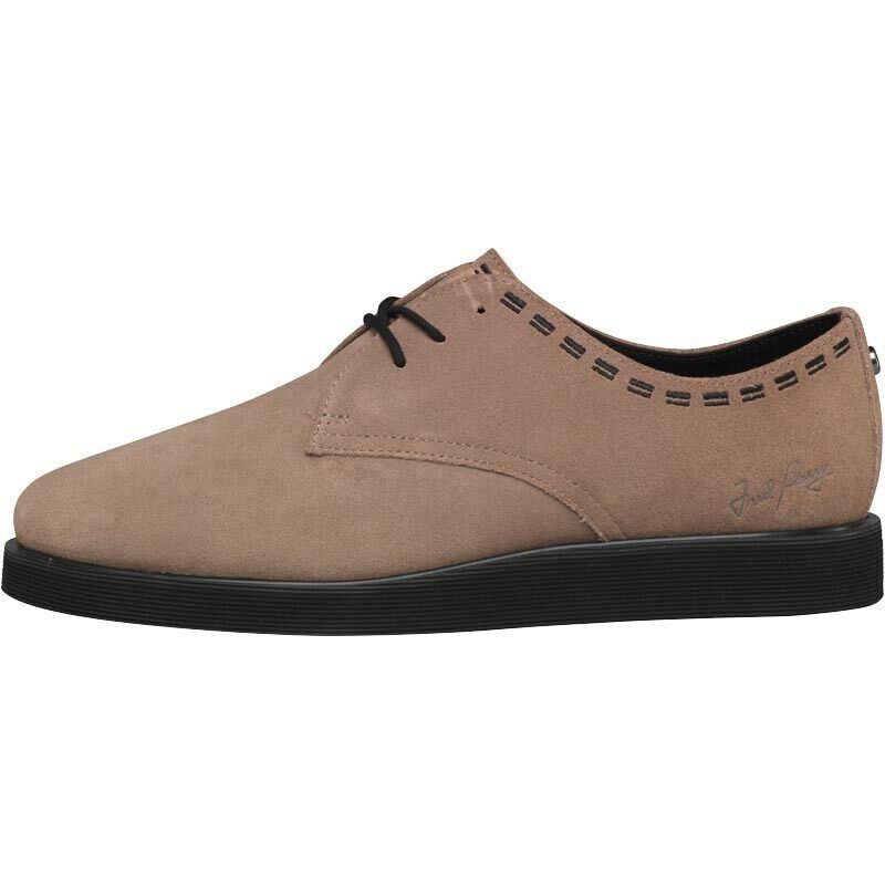 NUOVO Originale Fred Perry da uomo autentico Newburgh Suede Shoes Driftwood 11 UK/45 UE