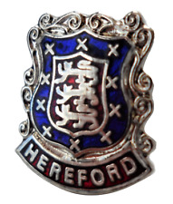 Portsmouth City Hampshire County Crest Small Pin Badge