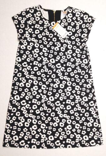 NWT Gymboree Girls City Kitty Navy Blue White Animal Print Dress Size 4