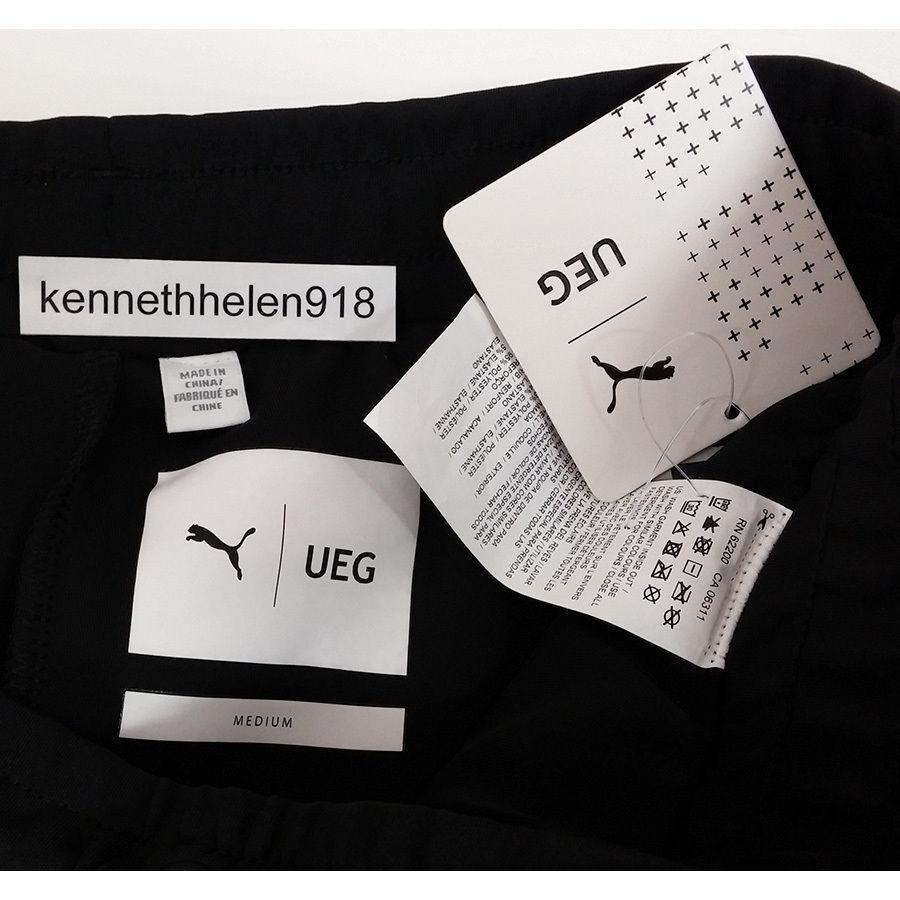 PUMA X X X UEG HERREN SWEATSHORTS TL29678 SCHWARZ GRÖSSE M 9f44cf