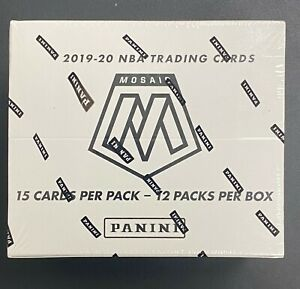 Violonchelo 2019-20 Panini Mosaic baloncesto Lote 12 Pack Multi-Pack Sellado
