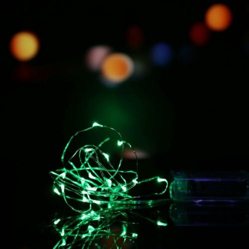 20//30//100 LED Battery Micro Rice Wire Copper Fairy String Lights Party White