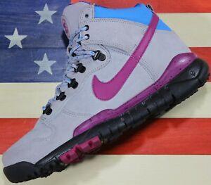 Nike-Dunk-SB-High-STUSSY-Gray-Blue-Sneakerboot-Boot-Vtg-ACG-2012-576611-064-8