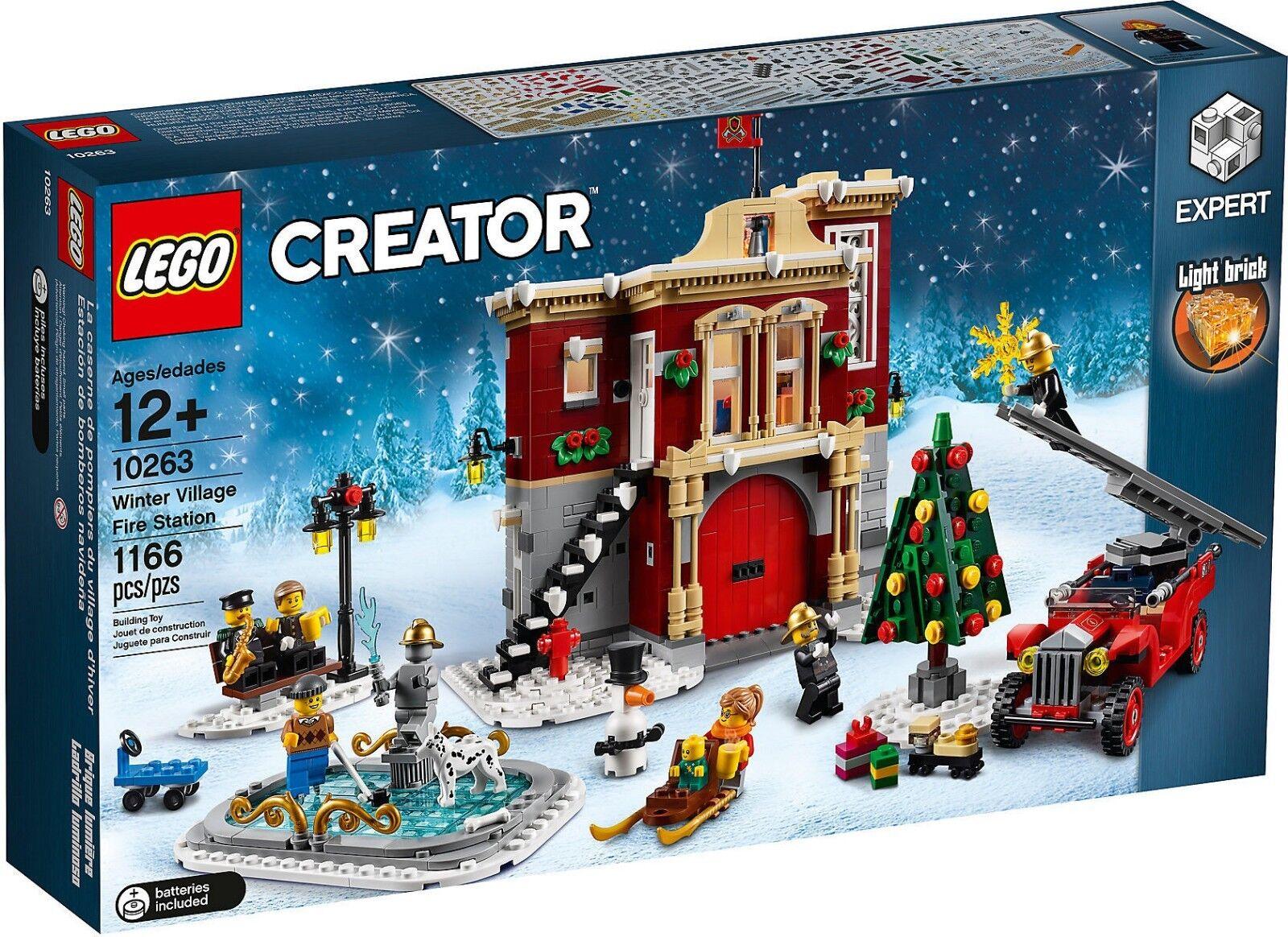LEGO Creator Collezionisti 10263 - Caserma Dei Pompieri Del Villaggio Invernale