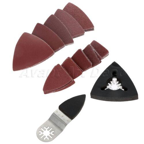 75pcs 60-240# Mix Sanding Paper Multifunction Power Multi-Tool 2pcs Sanding Pads