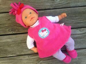 Kleidung + Schuhe für first ANNABELL Chou Baby Puppe 36-38 Puppenkleidung Katze