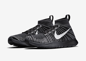 NEW Men's Nike Free Train Force Flyknit Shoes Size: 10.5 Color: Black MSRP: 150