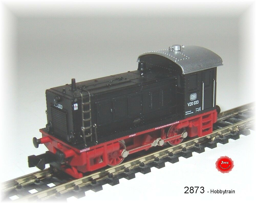 Hobbytrain 2873 Locomotora Diésel V20.033 DB Negro Ep.iii   Nuevo en Emb. Orig.