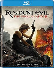 Resident Evil: The Final Chapter (Blu-ray Disc, 2017) New w/ Slipcover FREE Ship
