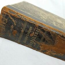 Rare Antique 1874 Dr Martin Luthers Sermons [Danish] Lutheran 540 Pgs Bible Book