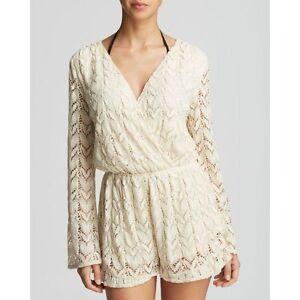 4e9024537735a Image is loading Surf-Gypsy-Women-039-s-White-Crochet-Romper-