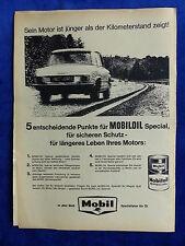 Mobil Mobiloil Special - Werbeanzeige Reklame Advertisement 1964 __ (166