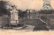 ANNECY 19 cadran solaire et la préfecture éd gardet timbrée 1905