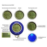 Mini Fishing Barometer Led Digital Waterproof Altimeter Thermometer Watch
