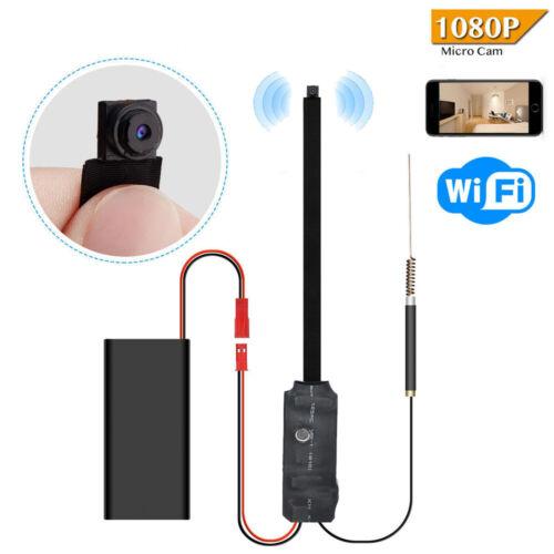 Hidden Camera WiFi Wireless DIY Mini IP Cam Motion Detection Sensitivity 1080P