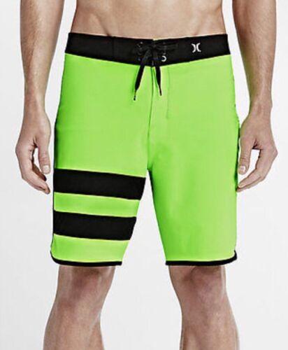 "Men/'s Hurley Phantom Block Party 19 Solid Board Shorts  SZ 44 Length 19/"""