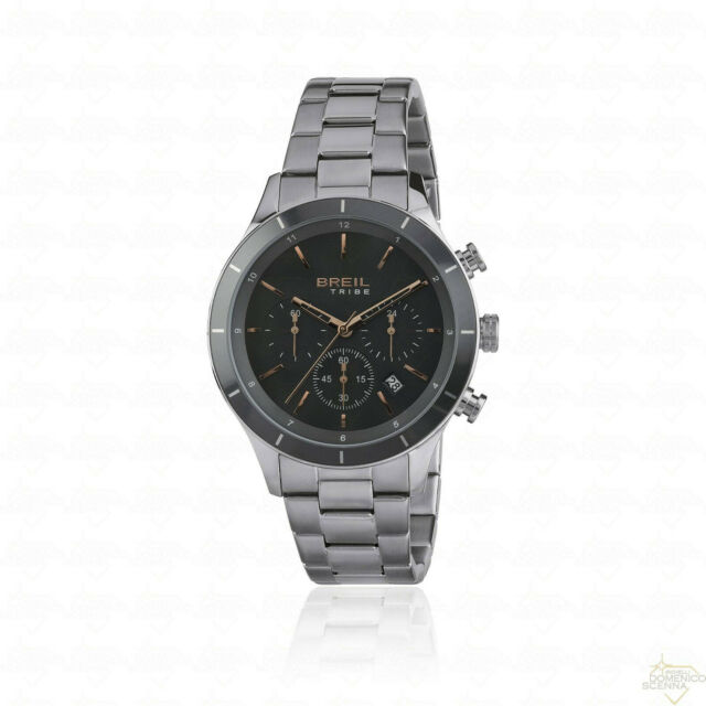 Orologio Breil Tribe Dude Collection Chrono grey dial ref. EW0448