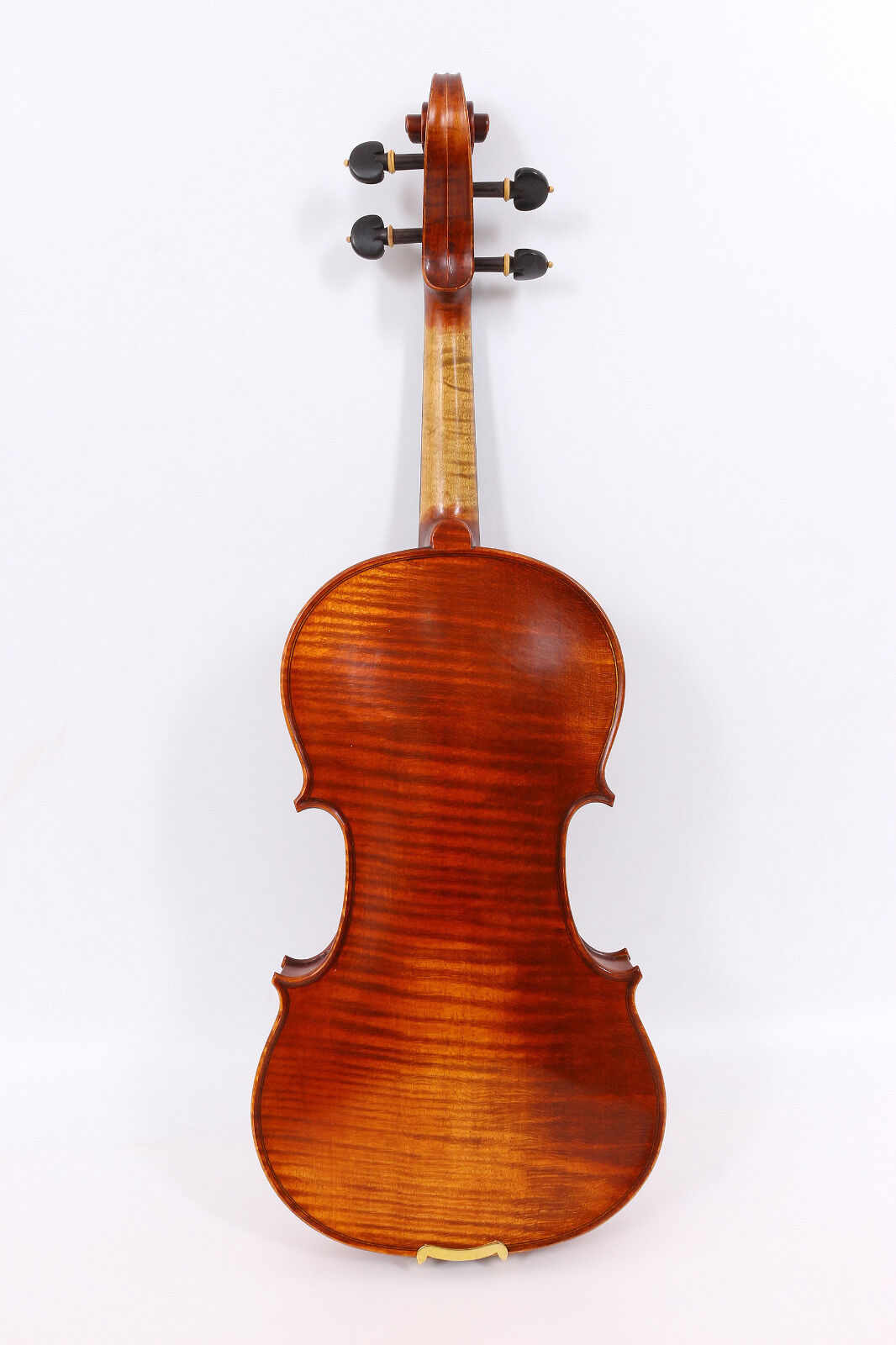 Master Violin 4 4 Handmade Flame Ein Stück Maple Back Russian Spruce Top