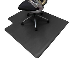 Image Is Loading Resilia Office Desk Chair Mat Black 3 039