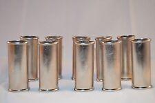 Wholesale Lot of 10 Ten Blank Metal Bic Lighter Cover Case Holder Crafts