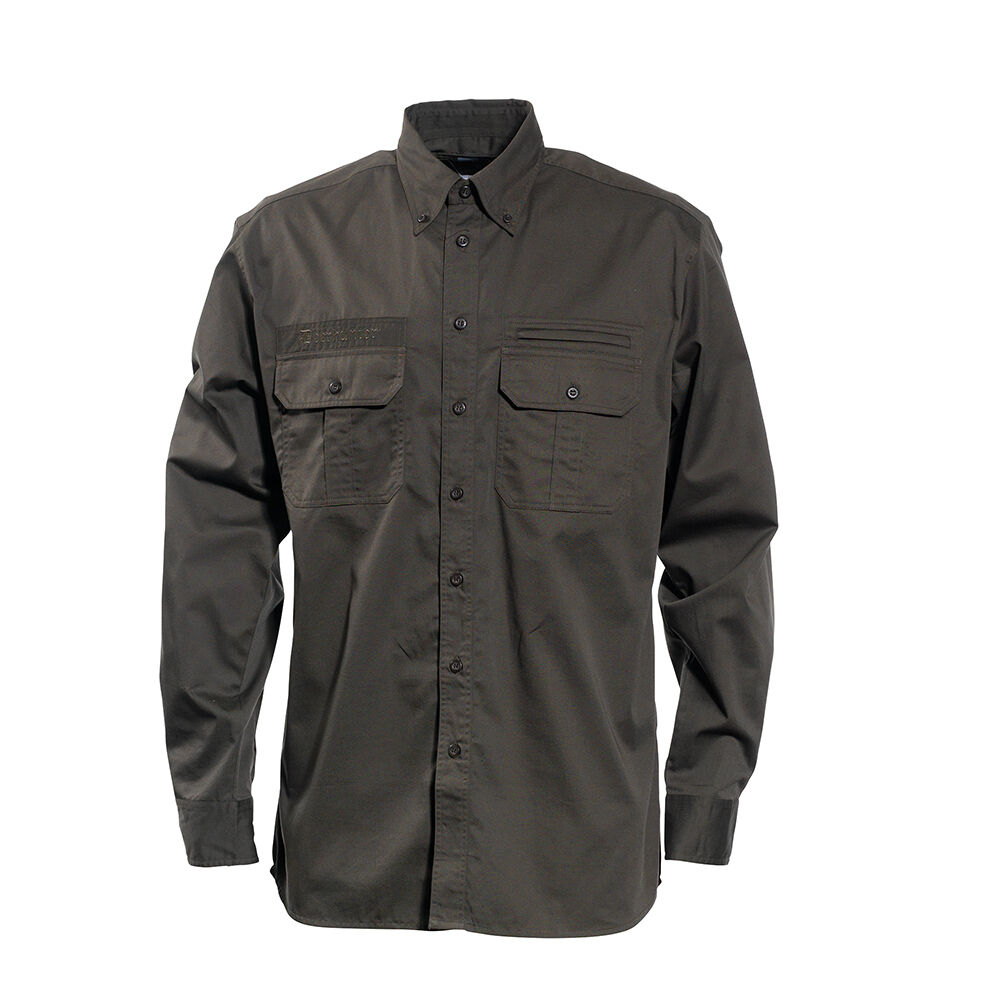 DEERHUNTER 8080 CARIBOU Jagdhemd, langär iges Hemd in green Gr. 37 38-47 48