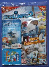 Schlumpf Schlümpfe === Werbeschlumpf mit Comicheft zum Film the smurfs 2 in 3D