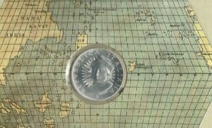 Italy-SILVER-500-LIRA-UNC-COIN-1991-COLUMBUS-MAP-MINT-PACK
